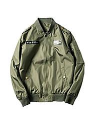 cheap -men's classic air force ma-1 flight jacket lightweight baseball pilot bomber jacket coat m green