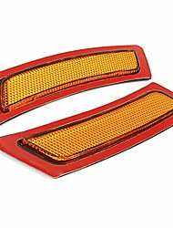 cheap -side marker fender reflector lights compatible with 2011-2016 bmw f10 5-series (amber)
