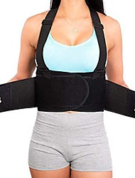 cheap -lower back brace with suspenders | lumbar support | wrap for posture recovery, herniated disc pain relief | waist trimmer work ab belt | industrial, adjustable | oversize | large women & men 4xl