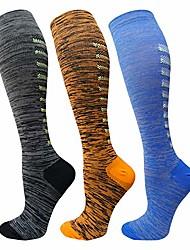 cheap -compression socks for women&men(3/7 pairs) - best medical for running,travel,nurses,flight travel,20-30mmhg