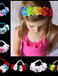 cheap -1pcs Infant Girls' Sweet Floral Floral Style Hair Accessories White / Blue / Purple
