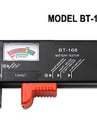 cheap -BT-168 AA/AAA/C/D/9V/1.5V batteries Universal Button Cell Battery Colour Coded Meter Indicate Volt Tester Checker BT168 Power