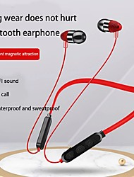 cheap -LITBest Magnetic Bluetooth Earphone Bluetooth Headset Sports Stereo Bass Handsfree Wireless Earpiece With Mic For All Smart Phones