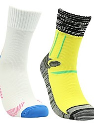 cheap -men's 2 pairs pack fit perfectly 100% comfortable socks yellow&white