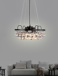 cheap -4-Light Post-modern Light Crystal Chandelier Living Room Lighting Simple American style luxury dining room lighting