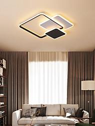 cheap -50 cm LED Ceiling Light Nordic Modern Square Tricolor Light Geometric Shapes Flush Mount Lights Metal Painted Finishes 110-120V 220-240V