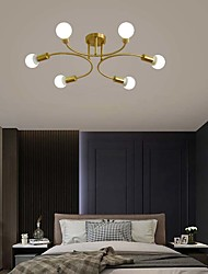 cheap -80 cm Premium Ceiling Light Classic Nordic Style Chandelier Copper Traditional 220-240V