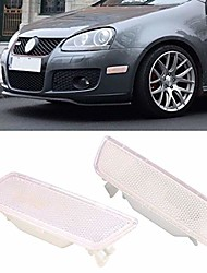 cheap -front bumper side marker lights turn signal lamps lens for volkswagen golf 5 gti jetta mk5 2005-2009 1k5945071a 1k5945072a