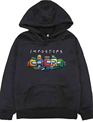 cheap -unisex among us hoodie sweatshirt pullover for boys/girls/womens/mens