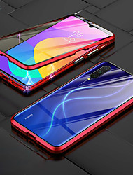 cheap -Case For Xiaomi Redmi 10X 5G / Redmi 9 / Redmi 9A Shockproof Full Body Cases Transparent / Solid Colored PC / Metal