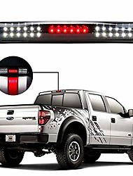 cheap -led 3rd brake light assembly cargo lamp high mount stop light rear tail light for 1997-2003 ford f150 2004 ford f150 heritage xl3z13a613aa fo2890102 (black housing smoke lens)