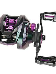cheap -Fishing Reel Baitcasting Reel 7.1:1 Gear Ratio 6 Ball Bearings Adjustable for Sea Fishing / Freshwater Fishing / Trolling & Boat Fishing