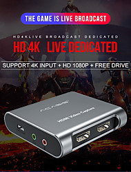 cheap -Acasis-tarjeta De Captura De Vdeo HDMI 4K 1080P Grabadora USB 30 HD Para Transmisin En Vivo De Video Juego Compatible Con PS4 Xbox PC Switch