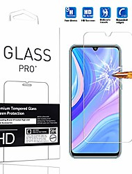 cheap -suitable for huawei enjoy 10s screen protector tempered glass [1 pc] high definition anti-scratch easy installation phone protective film for huawei enjoy 10s -1pcs