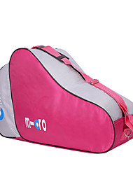 cheap -ice & inline skate bag premium bag to carry ice skates roller skates inline skates for both and adults - pink