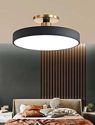cheap -1-Light And Contemporary Circular Bedroom Lamp Study Lamp Vogue Corridor Porch Lamp 28W