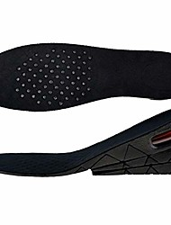 cheap -3-layer unisex height high increase shoe insoles lifts shoe pad lift kit air cushion heel inserts for men women