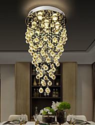 cheap -45cm LED Crystal Chandelier Modern Luxury Ceiling Light DIY Modernity Luxury Globe K9 Crystal Pendant Lighting Hotel Bedroom Dining Room Store Restaurant LED Pendant Lamp Indoor Lighting