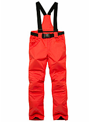 cheap -Men's Ski / Snow Pants Ski / Snowboard Winter Sports Waterproof Windproof Warm Polyester Pants / Trousers Bib Pants Ski Wear / Solid Colored