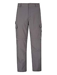 cheap -explore convertible mens trousers - summer pants grey 28w