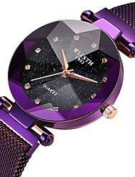 cheap -WLISTH Women's Quartz Watches Quartz Zodiac Fashion Adorable Analog Purple Champagne Gold / One Year / Stainless Steel / Stainless Steel / One Year