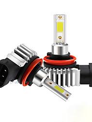 cheap -2pcs LED H1 H3 H7 H4 H13 H11 9004 880 9007 Auto S2 Car Headlight Bulbs 72W 8000LM 6500K for 9V to 36V 200M lighting range