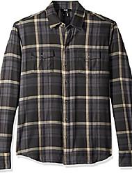 cheap -men's everett brushed cotton button down shirt, balsam green, xxl