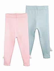cheap -little girls' basic casual leggings 3 pack toddler & kids / 4 years old
