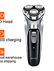 cheap -Enchen Electric Shaver Men 3D Type-C USB Rechargeable Razor 3 Blades Portable Beard Trimmer Cutting Machine For Shaving