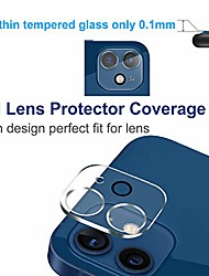 cheap -2 pack Camera Lens Protector Compatible with iPhone 12Pormax iPhone 11 Tempered Glass Camera Protector  Case Friendly Back Lens Rear Camera Protective Film For iPhone 12 mini iPhone 11promax