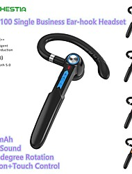 cheap -100 Telephone Driving Headset Bluetooth5.0 Stereo with Microphone with Volume Control Sweatproof for Car Motorcycle