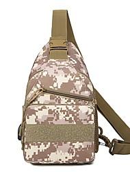 cheap -Unisex Bags Canvas Sling Shoulder Bag Chest Bag Pattern / Print Zipper 2021 Daily Outdoor Black Yellow Khaki Gray
