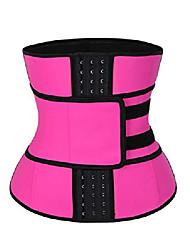 cheap -Waist Trainer Corset Slimming Belt Hot Sauna Waist Trimmer Belly Band Sports Girdle Belt