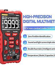 cheap -AN82 Digital Multimeter Professional 9999 Tester DIY Transistor Capacitor NCV Testers True RMS Analog meter Multimetro