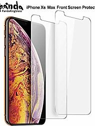 cheap -screen protector for iphone 11 pro max,iphone xs max (6.5 inch) iphone xs max tempered glass screen protector advanced clarity [3d touch] work with most case clear(2 pack))