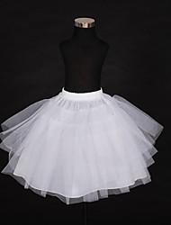 cheap -Wedding / Special Occasion Slips Polyester Knee-Length Ball Gown Slip / Wedding with Gore