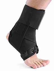 cheap -ankle brace, ankle protection with adjustable ankle strap foot support to relieve muscles women men(l)