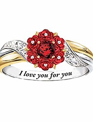 cheap -rings for women silver round zirconia bridal ring jewelry diamond ring gifts engagement wedding anniversary ring