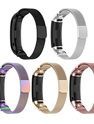 cheap -Watch Band for Huawei Band 3 Pro / Huawei band 4 pro Huawei Sport Band Stainless Steel Wrist Strap