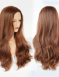 cheap -deep brown wig for women long kinky curly soft synthetic heat resistant fiber wigs for daily wear for cosplay