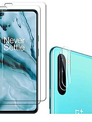 cheap -[4 pack]  for oneplus nord n10 5g 2 screen protector + 2 camera lens protector, 9h hardness screen protector, high-definition transparent scratch-resistant, non-bubble glass screen protector