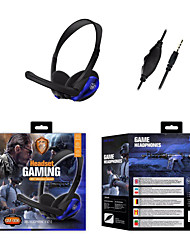 cheap -GM-006 Gaming Headset 3.5mm Headphone 3.5mm Microphone Stereo with Microphone with Volume Control Sweatproof for Gaming