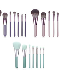 cheap -Professional Makeup Brushes 7 PCS Soft Full Coverage Adorable Lovely Comfy Wooden / Bamboo for Makeup Tools Eyeliner Brush Blush Brush Foundation Brush Makeup Brush Lip Brush Eyeshadow Brush