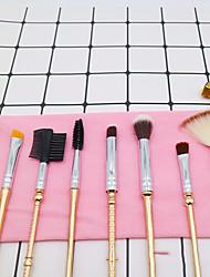 cheap -8 Girls' Makeup Brush Set Metal Handle Eye Lip Brush Beauty Makeup Makeup Tool