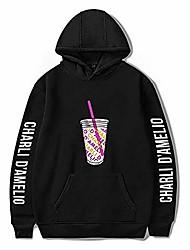 cheap -printed the hype house hoodies unisex men and women casual charli d'amelio sport hoodie fun hoodie (size: xxs-xxxxl) (black, s)