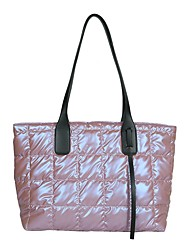 cheap -Women's Bags Nylon Cotton Tote Top Handle Bag Zipper Daily Outdoor Handbags Baguette Bag Black Blue Blushing Pink Green