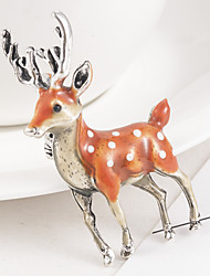 cheap -Brooches Animal Stylish Brooch Jewelry Brown For