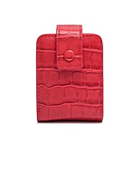 cheap -Women's Bags PU Leather Mobile Phone Bag Embossed Plain 2020 Daily Wine Black Red Blushing Pink
