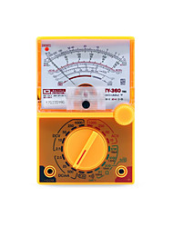 cheap -TY-360 DC/AC 1000V Voltmeter 500mA Ammeter 1K Resistance Meter Analog Multimeter Tool