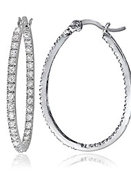 cheap -sterling silver cubic zirconia inside, silver flash, size no size